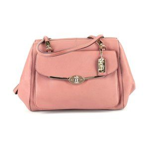 Coach Madison Pink Saffiano Madeline Leather Bag